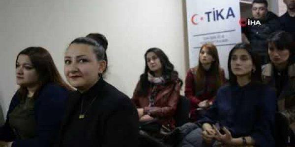 TİKA Gürcistan'da girişimci gençler için eğitim merkezi açtı