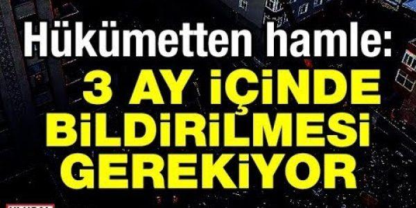 Bakan Murat Kurum açıkladı: 3 ay içinde bildirilmesi gerekiyor