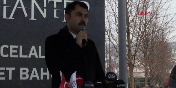 Bakan Kurum; 'İzmir Bayraklı'ya ekip yolluyoruz'