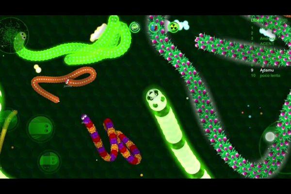 Yılan oyunu android mobil yılan oyunları Wormax.io