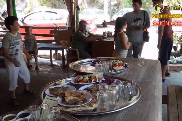 Antalya Gezilecek Yerleri – Muhtarın Yeri Sakin Gözleme – Antalya Çakırlar Kahvaltı