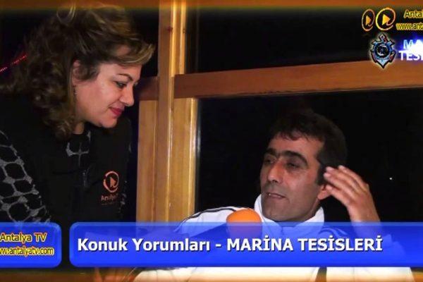 Marina Restaurant – Antalya Balıkevi – Örnekköy Lara Antalya Geceleri Eğlence Mekanları