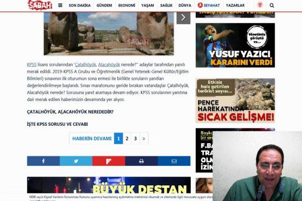 Çatalhöyük Alacahöyük Nerededir ? KPSS Sorusu Google Trends