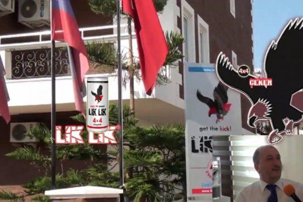 Lık Lık – 4×4 Enerji İçeceği – Bedri Yalçın Antalya